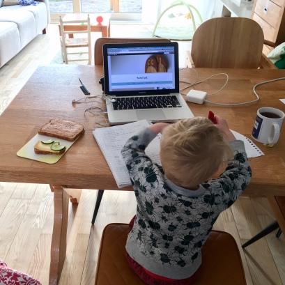 Blogger in spe