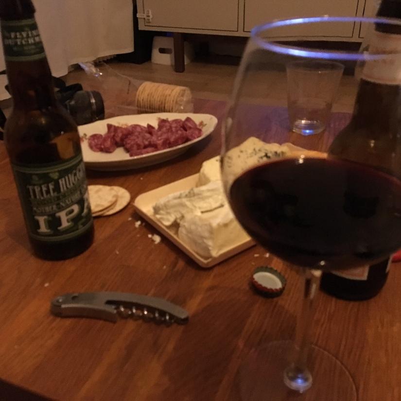 wijntje drinken