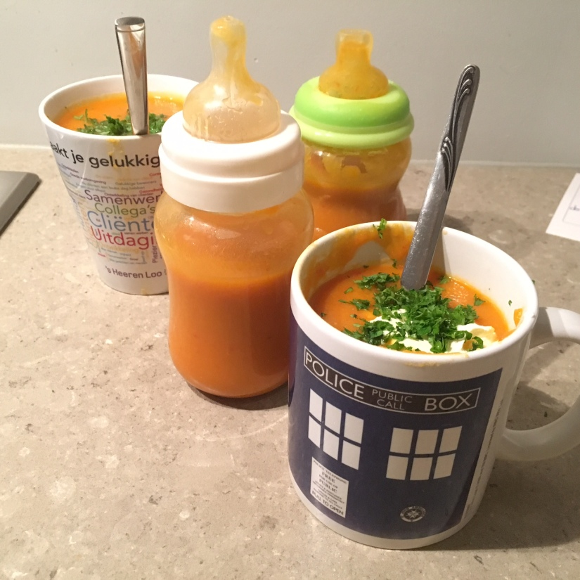 aardappelsoep voor kinderen