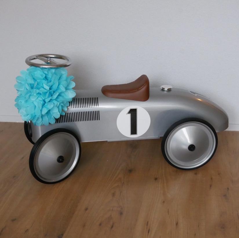 raceauto loopwagen