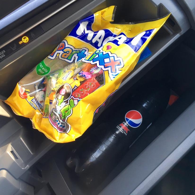 moam snoepjes voor op reis