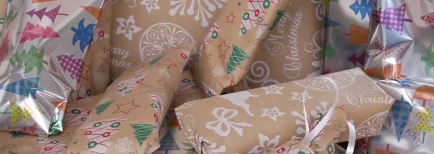 Heel veel cadeautjes