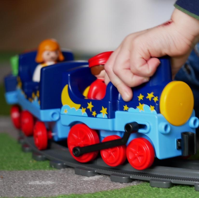 playmobile trein