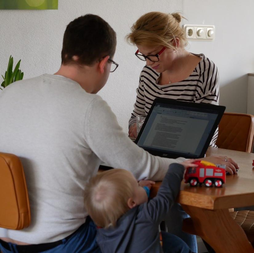thuis werken met kinderen